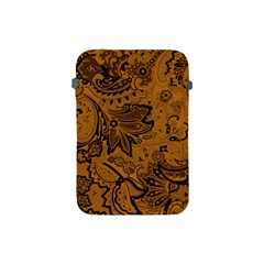 Art Traditional Batik Flower Pattern Apple Ipad Mini Protective Soft Cases
