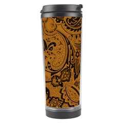 Art Traditional Batik Flower Pattern Travel Tumbler by BangZart