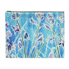 Art Batik Flowers Pattern Cosmetic Bag (xl) by BangZart