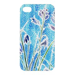 Art Batik Flowers Pattern Apple Iphone 4/4s Hardshell Case