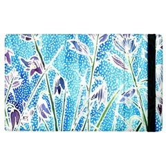 Art Batik Flowers Pattern Apple Ipad 3/4 Flip Case