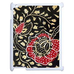 Art Batik Pattern Apple Ipad 2 Case (white) by BangZart