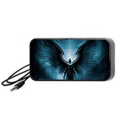 Rising Angel Fantasy Portable Speaker (black) by BangZart
