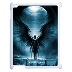 Rising Angel Fantasy Apple Ipad 2 Case (white) by BangZart