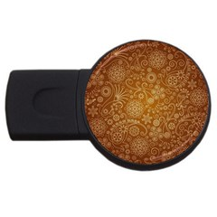 Batik Art Pattern Usb Flash Drive Round (2 Gb) by BangZart