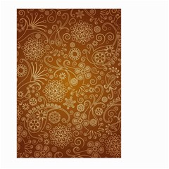 Batik Art Pattern Large Garden Flag (two Sides)