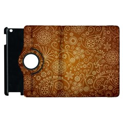 Batik Art Pattern Apple Ipad 3/4 Flip 360 Case