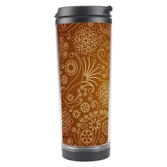 Batik Art Pattern Travel Tumbler by BangZart