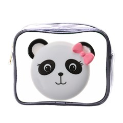 Pretty Cute Panda Mini Toiletries Bags by BangZart