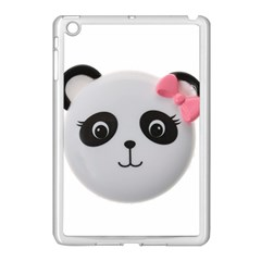 Pretty Cute Panda Apple Ipad Mini Case (white) by BangZart