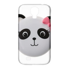 Pretty Cute Panda Samsung Galaxy S4 Classic Hardshell Case (pc+silicone) by BangZart