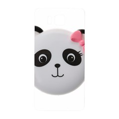 Pretty Cute Panda Samsung Galaxy Alpha Hardshell Back Case by BangZart