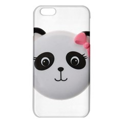 Pretty Cute Panda Iphone 6 Plus/6s Plus Tpu Case by BangZart