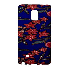 Batik  Fabric Galaxy Note Edge