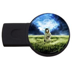 Astronaut Usb Flash Drive Round (2 Gb) by BangZart