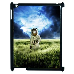 Astronaut Apple Ipad 2 Case (black) by BangZart