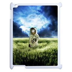 Astronaut Apple Ipad 2 Case (white) by BangZart
