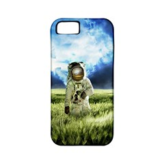 Astronaut Apple Iphone 5 Classic Hardshell Case (pc+silicone) by BangZart
