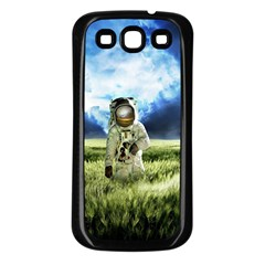 Astronaut Samsung Galaxy S3 Back Case (black) by BangZart