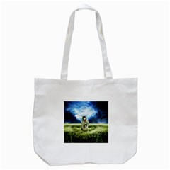 Astronaut Tote Bag (white) by BangZart