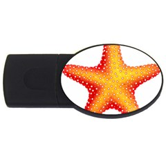 Starfish Usb Flash Drive Oval (2 Gb) by BangZart