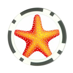 Starfish Poker Chip Card Guard by BangZart