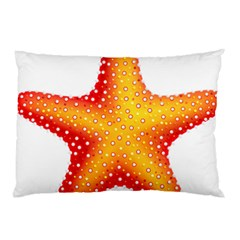 Starfish Pillow Case (two Sides) by BangZart