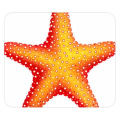 Starfish Double Sided Flano Blanket (small)  by BangZart