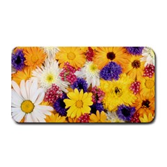 Colorful Flowers Pattern Medium Bar Mats