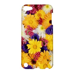 Colorful Flowers Pattern Apple Ipod Touch 5 Hardshell Case