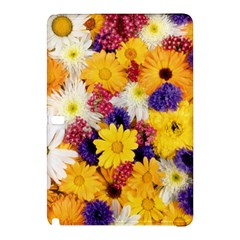 Colorful Flowers Pattern Samsung Galaxy Tab Pro 10 1 Hardshell Case by BangZart