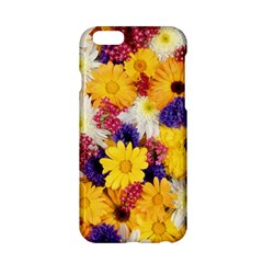 Colorful Flowers Pattern Apple Iphone 6/6s Hardshell Case by BangZart