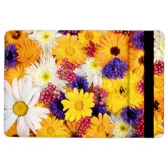 Colorful Flowers Pattern Ipad Air 2 Flip by BangZart