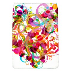 Abstract Colorful Heart Flap Covers (l)  by BangZart
