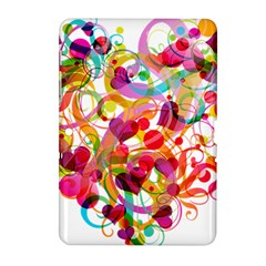 Abstract Colorful Heart Samsung Galaxy Tab 2 (10 1 ) P5100 Hardshell Case  by BangZart