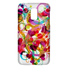 Abstract Colorful Heart Galaxy S5 Mini