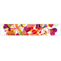 Abstract Colorful Heart Flano Scarf (large) by BangZart