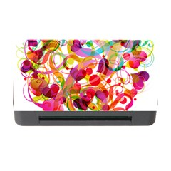 Abstract Colorful Heart Memory Card Reader With Cf by BangZart
