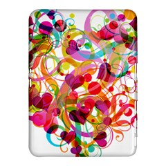 Abstract Colorful Heart Samsung Galaxy Tab 4 (10 1 ) Hardshell Case