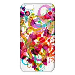 Abstract Colorful Heart Iphone 6 Plus/6s Plus Tpu Case by BangZart