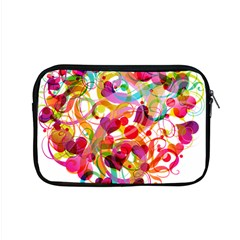 Abstract Colorful Heart Apple Macbook Pro 15  Zipper Case