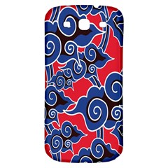 Batik Background Vector Samsung Galaxy S3 S Iii Classic Hardshell Back Case by BangZart