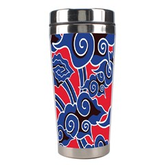 Batik Background Vector Stainless Steel Travel Tumblers by BangZart