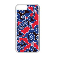 Batik Background Vector Apple Iphone 7 Plus White Seamless Case by BangZart