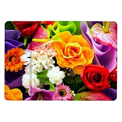 Colorful Flowers Samsung Galaxy Tab 10 1  P7500 Flip Case by BangZart