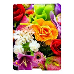 Colorful Flowers Samsung Galaxy Tab S (10 5 ) Hardshell Case  by BangZart