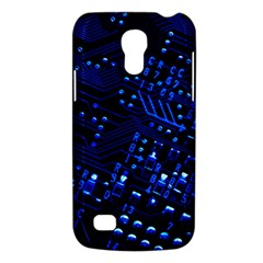 Blue Circuit Technology Image Galaxy S4 Mini by BangZart