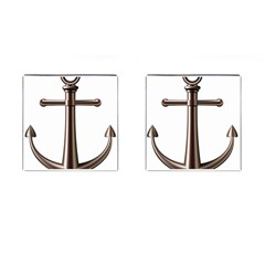 Anchor Cufflinks (square) by BangZart