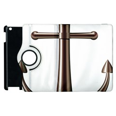 Anchor Apple Ipad 2 Flip 360 Case by BangZart