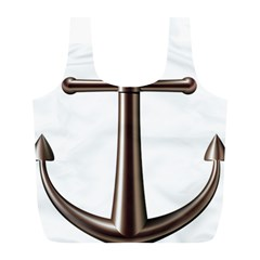 Anchor Full Print Recycle Bags (l)  by BangZart